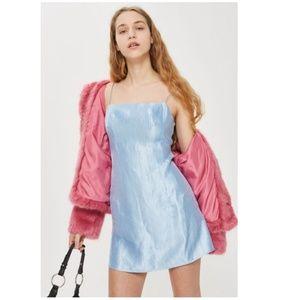 Topshop 90s Satin Mini Dress